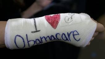 Obamacare hat mit Startschwierigkeiten zu kämpfen (Archiv)
