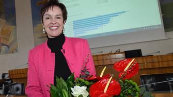 Neu im Regierungsrat: Monica Gschwind. Nicole Nars-Zimmer