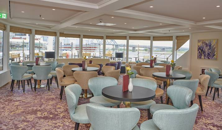 Die Excellence Countess, das neue Flussschiff der Schweizer Familienreederei Swiss Excellence River Cruise.