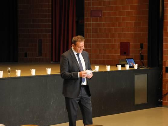 Gemeindepäsident André Bender