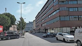 «Es wird Wert auf Aufenthaltsqualität gelegt»: Die Güterstrasse beim Bahnhof soll verkehrsberuhigt und umgestaltet werden.