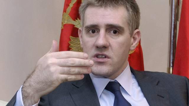 Gegen seine Regierung richtete sich die Demonstration: Premier Igor Luksic (Archiv)