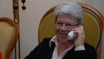 Heidi Affolter aus Mellingen startete die Telefonkette.