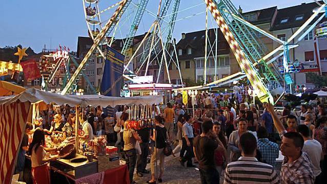 Ein grosser Andrang am Albanifest in Winterthur wird es erst 2021 wieder geben. (Archivbild)