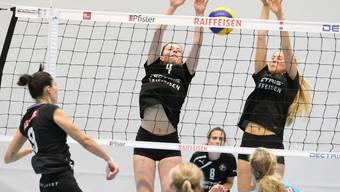 Schwere Zeiten für Kanti Badens Volleyballerinnen.