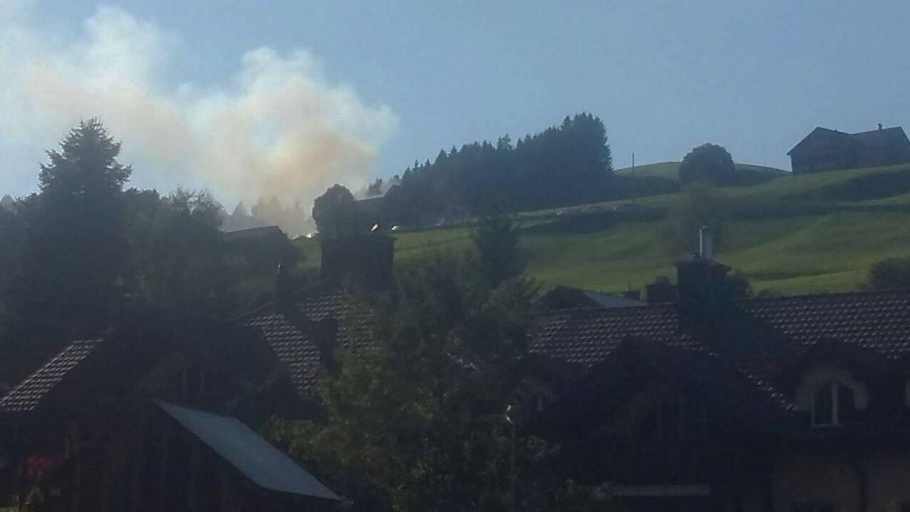 FM1Today-Reporterin Tijana ist auf den Rauch aufmerksam geworden.