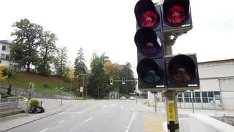 Die bürgerliche Mehrheit wollte nichts von Tempo 30 in der Liestaler Rosenstrasse wissen. (Archiv)