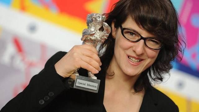 Vielleicht darf sie bald einen Oscar in Empfang nehmen: Die Westschweizer Regisseurin Ursula Meier, hier an der Berlinale (Archiv)