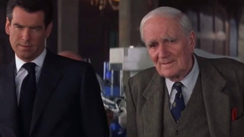 Das MI6 hat tatsächlich einen Erfinder wie Q (r. Desmond Lewelyn) aus den James-Bond-Filmen - nur ist er eine Frau und noch viel genialer als die Filmfigur. (Handout)