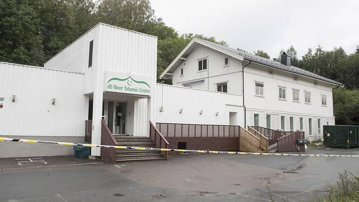 Der verhaftete 21-jährige Tatverdächtige hat den Angriff auf die Moschee in Baerum bei Oslo gestanden. (Archivbild)