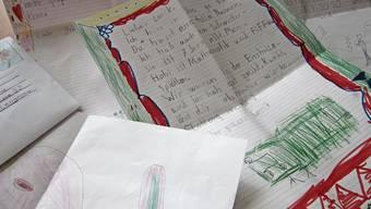 Eine Auswahl der Briefe, die sich die Schülerinnen und Schüler gegenseitig schicken.