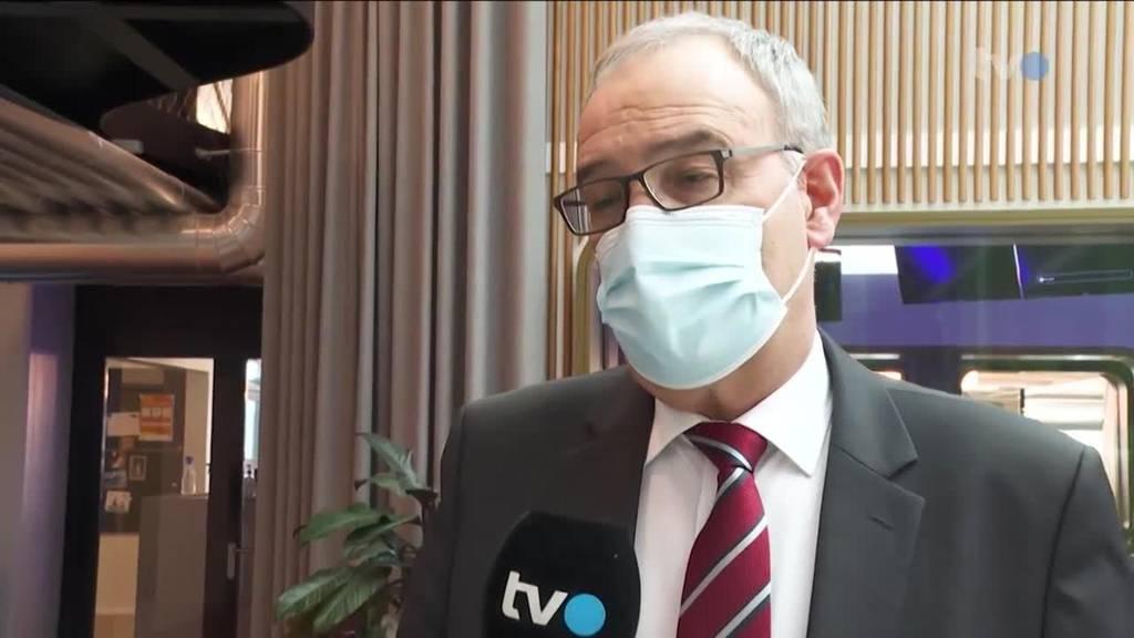 Hoher Besuch: Bundespräsident Guy Parmelin bei TVO
