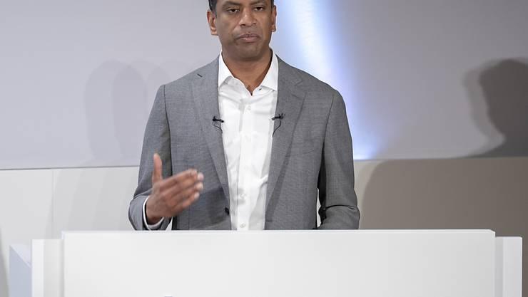 Der von Vas Narasimhan geführte Pharmakonzern Novartis hat auch im laufenden Jahr weiter Umsatz zugelegt.