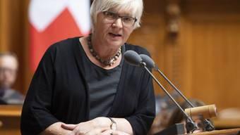 """Parlamentarier, die durch ihre Abwahl finanziell in Not geraten, können ein Gesuch um Überbrückungshilfe stellen. Die abgewählte Rosmarie Quadranti (BDP ZH) will dies nicht beanspruchen - """"und wenn doch, würde ich es nicht sagen"""". (Archivbild)"""