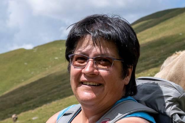 Christa Buchli, Präsidentin des Bündner Älplerinnen- und Älplerverbands.