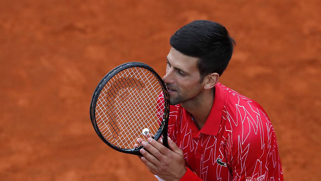 Novak Djokovic musste sich Landsmann Filip Krajinovic geschlagen geben