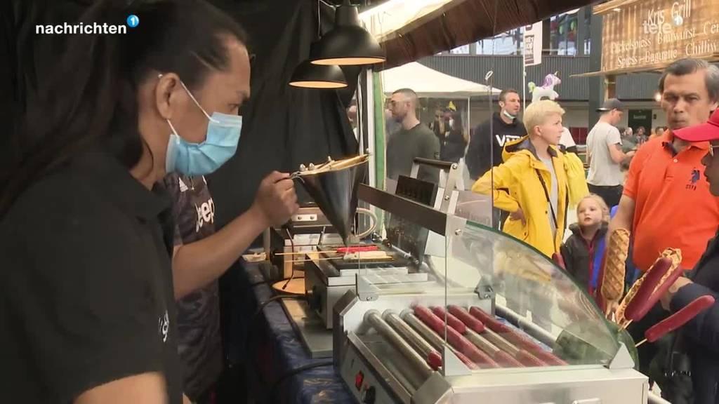 Street Food Festival Luzern kann für Getestete, Geimpfte und Genesene stattfinden