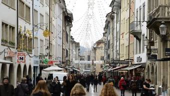 In der Winterthurer Innenstadt können Interessenten öffentliche Plätze für Veranstaltungen nun einfacher buch. (Symbolbild)
