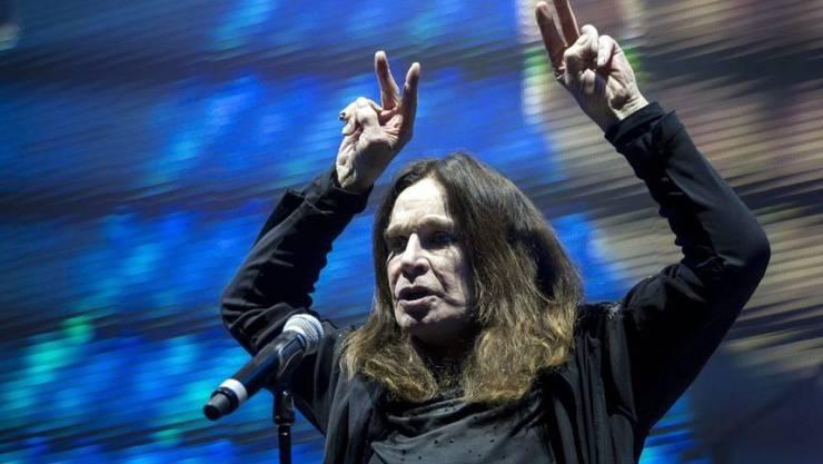 Ozzy Osbourne hatte schwere Krankheiten und litt unter Todesangst, heute geht es ihm aber wieder besser. (Archiv)