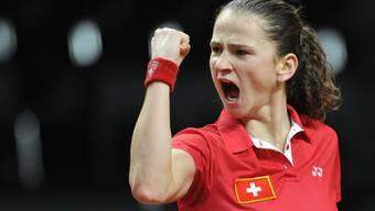 Amra Sadikovic ballt die Siegerfaust. (Archivbild)