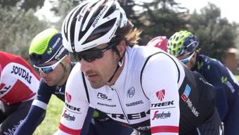 Fabian Cancellara bekundete im Finale von Sanremo Pech und verpasste die Top Ten.