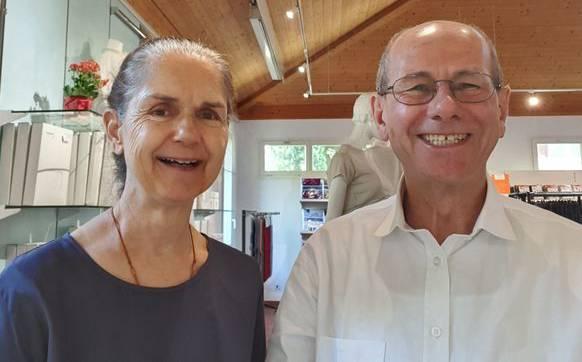 Ruth und Ronald Widmer.