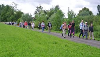 az-Leserwandern Sechste Etappe: Von Muri nach Boswil