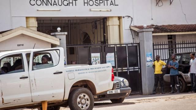 Spital in Freetown, der Hauptstadt Sierra Leones (Archiv)