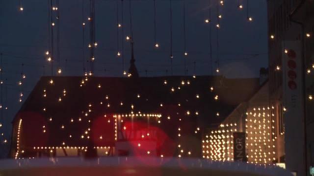 Weihnachtsbeleuchtung in Gefahr