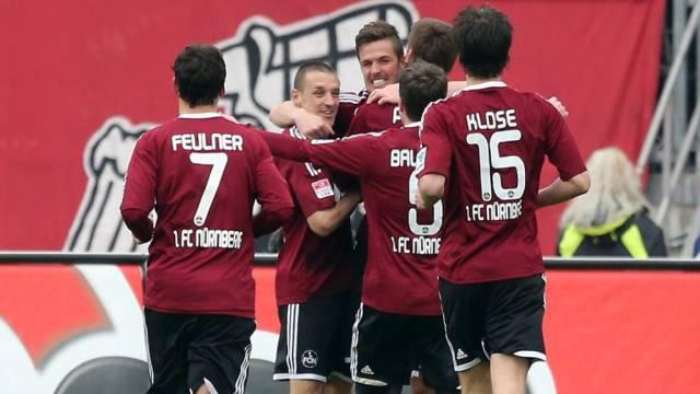 Nürnberg feiert den Doppeltorschützen Per Nilsson