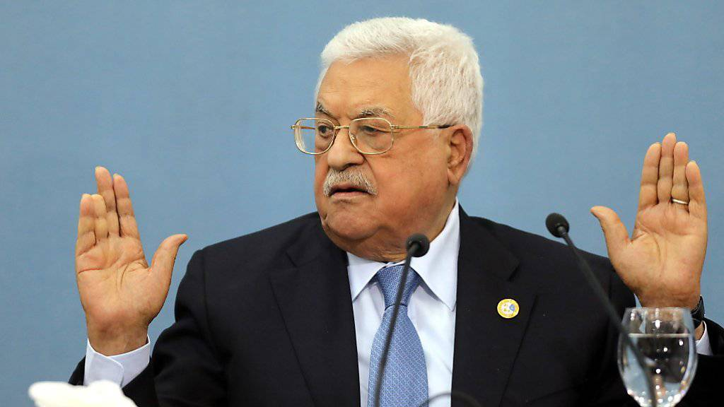 «Werden nicht Sklaven oder Diener der US-Regierung»: Palästinenserpräsident Mahmud Abbas.