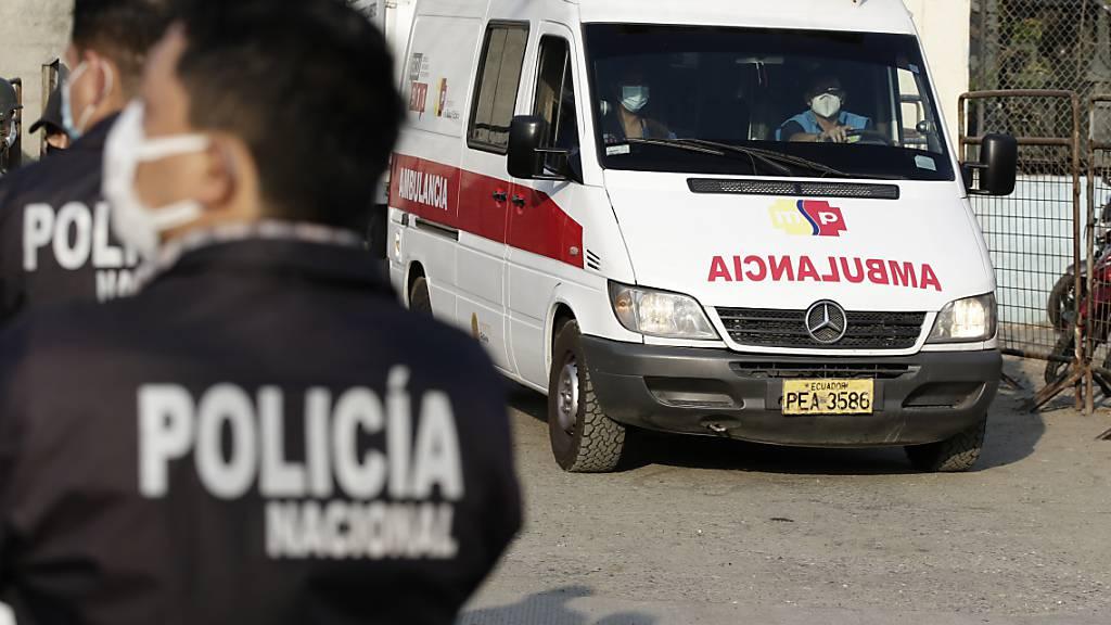 Ecuador: Zahl der Toten bei Kämpfen in Gefängnis steigt auf über 100