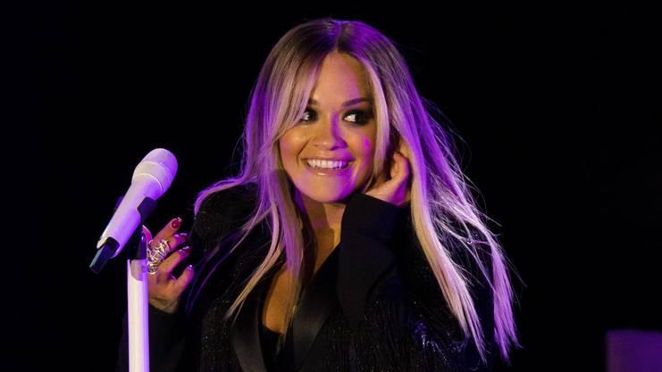Rita Ora tritt am Alba-Festival auf der Hardturm-Brache auf.