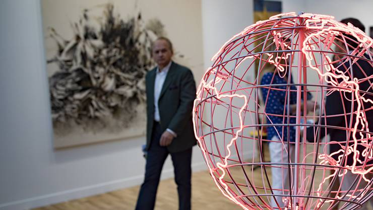 Bis am 21. Oktober ist Paris die Kunsthauptstadt der Welt: Die Kunstmesse FIAC ist am Donnerstag eröffnet worden.