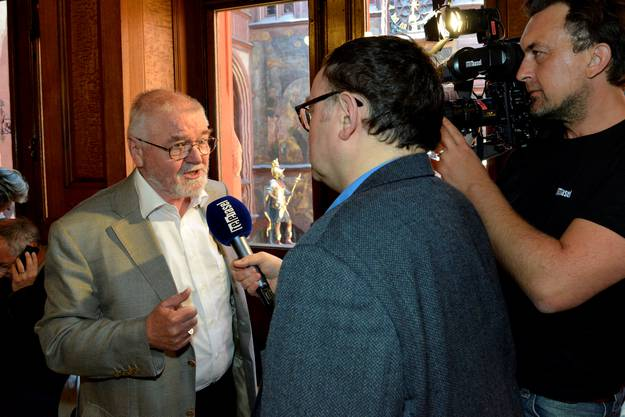 Robert Schiess vom Heimatschutz kann zufrieden sein. Er hat sich mit einem Referendum gegen den Rheinuferweg engagiert.