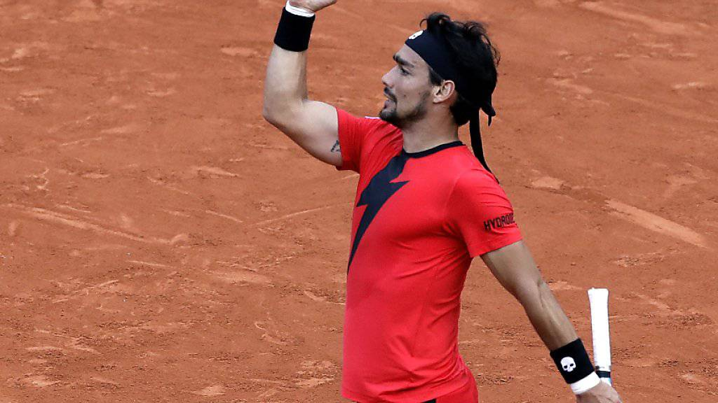 Fabio Fognini zählt mit 31 auf Sand immer noch zu den Besten auf der Tennis-Tour
