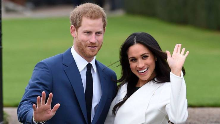 Theresa May und Donald Trump sind nicht zu Prinz Harrys Hochzeit eingeladen. Die Präsenz von politischen Führungspersönlichkeiten sei für das Protokoll nicht erforderlich, heisst es aus dem Kensington-Palast. (Archivbild)