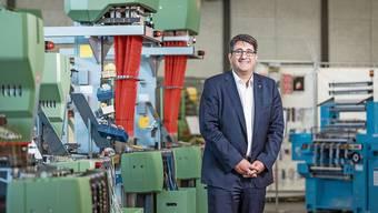 Robert Reimann, CEO der Jakob Müller AG, hofft, dass die Zukunftsprojekte trotz Krise vorwärtskommen.