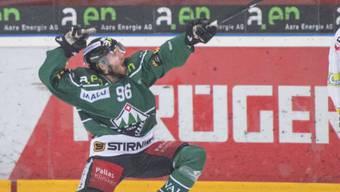 Steigt mit Österreich in die A-Gruppe auf: EHCO-Stürmer Martin Ulmer