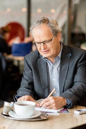 AZ-Redaktor Jörg Meier trifft den Schauspieler zum Gespräch.