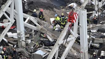 Dach von Supermarkt in Lettland eingestürzt