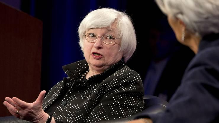 Die Hüterin des Leitzinses: Fed-Chefin Janet Yellen gibt massgebliche Impulse in der Weltwirtschaft. (Archiv)