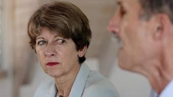 Die ehemalige Bundeskanzlerin Huber-Hotz in einer Aufnahme von 2008