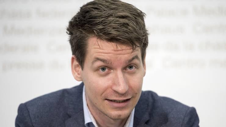 JGLP-Präsident Pascal Vuichard.