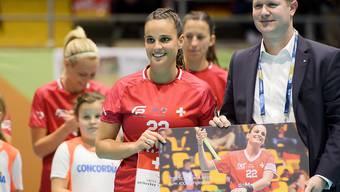 Die langjährige Nationalspielerin Seraina Ulber tritt vom Spitzensport zurück