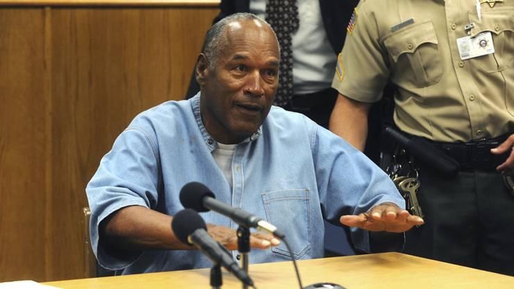 O.J. Simpson freut sich schon auf den Champagner, mit dem er im Oktober auf seine Haftentlassung anstossen darf. Auch ein Joint wäre ihm grundsätzlich erlaubt - allerdings nur, wenn er vom Arzt verschrieben worden ist.