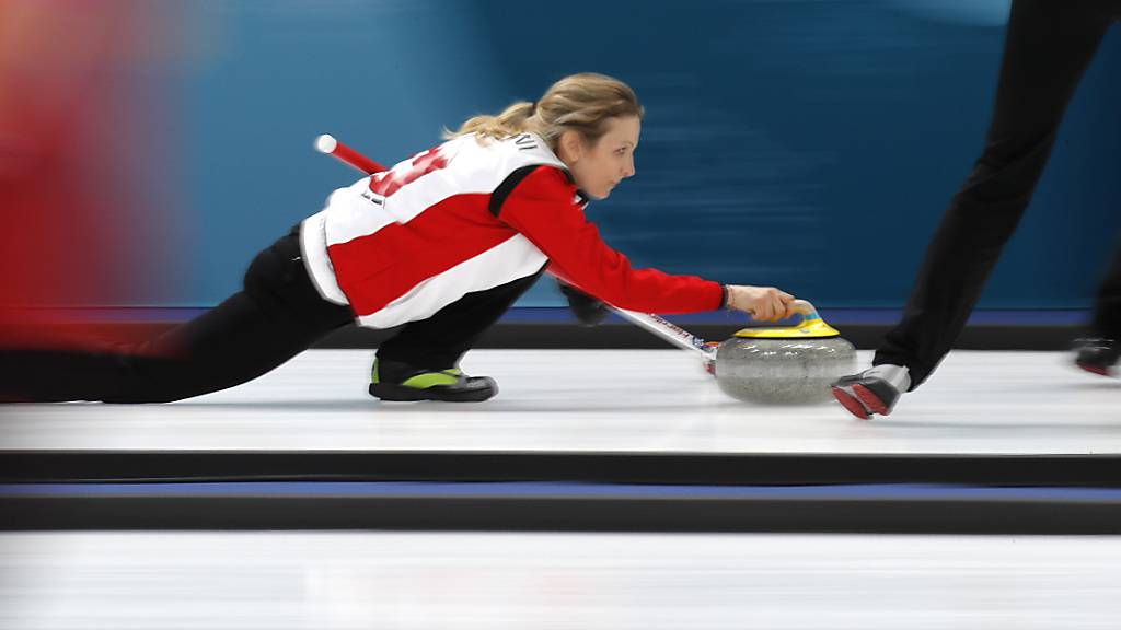 Silvana Tirinzoni gewann mit dem Schweizer Team an der WM 2019 die Goldmedaille