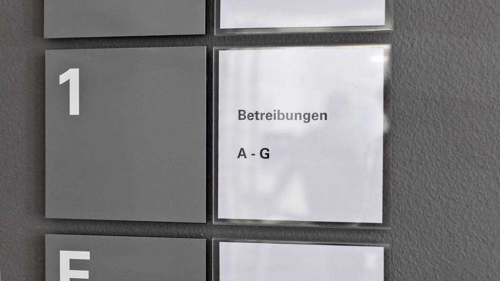 Das Konkursamt des Kantons St.Gallen bearbeitet laufend mehr Fälle, oftmals gehen Betreibungen voraus.