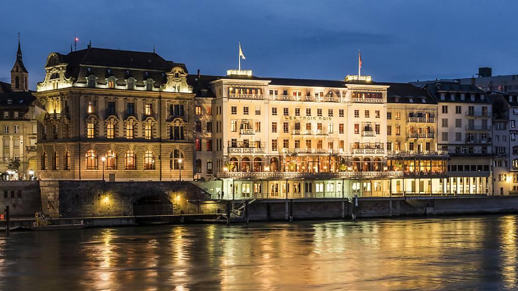 """Das """"Les Trois Rois"""" in Basel ist von GaultMillau zum Hotel des Jahres gekürt worden."""