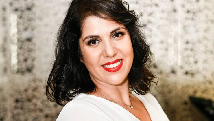 Die 36-jährige Geschäftsfrau und Coiffeuse Beyza Tut setzt ihre kreativen Ideen gerne in die Tat um. ZVG/Myriam Brunner